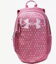 NWT Under Armour Youth Girls Pink Scrimmage 2.0 Backpack $45