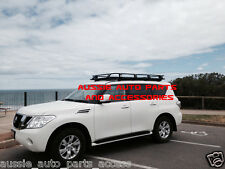 Fully Enclosed Deluxe Alloy Roof Rack Cage 2200mm for NISSAN PATROL Y62 2011 On