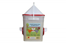 Chicken Feeder-Holds 20 Pounds-Pellets-Crumbles-G rain in Bucket - for 21st - or