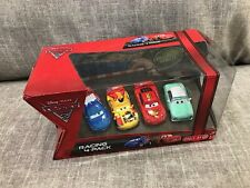 Disney Pixar Cars 2 4-PACKDenise Beam, Raoul,Miguel Camino McQueen non-mint