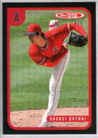 Shohei Ohtani 2020 Topps Total Black #628 /5 Angels