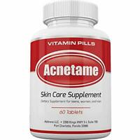 Acnetame Vitamin Supplements for Acne Treatment, 60 Natural Pills