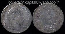 5 Francs 1841B (Rouen) Louis Philippe 1er Argent