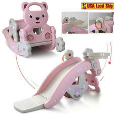 Playground Swing Set Kids Slide Play Center Baby Toddler Indoor Outdoor Child bu