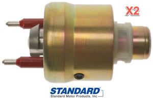 2 NEW Throttle Body Fuel Injectors TDI STANDARD TJ7T REPLACE GMC OEM # 5235305
