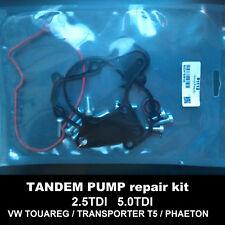 Fuel vacuum pump gaskets tandem pump seals kit VW Transporter T5 Multivan 2.5TDI