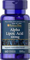 Alpha Lipoic Acid (Alpha- Liponsäure)100 mg Puritans Pride 60caps EUR39,28/ 100g