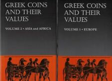 Sear, Greek Coins and their Values. Volume 1 – Europe + 2 – Asia and Africa.