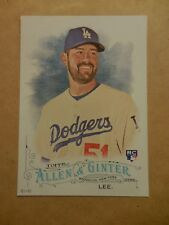 2016 Topps Allen & Ginter 5x7 2/49 #163 Zach Lee RC ROOKIE Dodgers