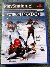 Play Station 2 von Sony Spiel Biathlon 2008