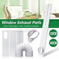 1-4PCS Window Exhaust Parts Slide Kit Plate Adaptor For Portable Air  h