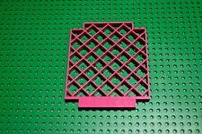 Lego 1 Stück 6165 Belville gerade Zaun Wand Pink 12x1x12 Rankgitter Trennwand