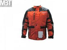 Modeka Moto Veste De Loisir ENFANTS Kalahari Taille 164 Textile Noir Orange