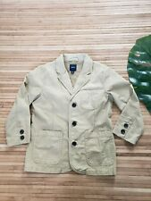 Gapkids Boys Sz (S) 6/7 Easter Blazer Jacket Chino Khaki Tan Beige