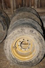 Caterpillar 10x16.5 Skidsteer Wheels Tires CAT SKID STEER 10-16.5