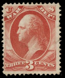 O85 Official stamp United States mint no gum