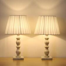 Set of 2 Vintage Nightstand Lamps Light Beside Table Desk...