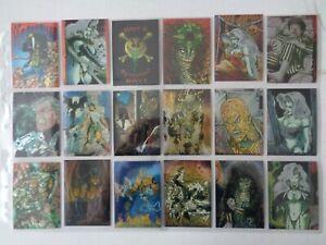 Evil Ernie  Glow In The Dark     Full set of  100   Trading Cards