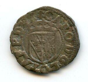 Duchy Of Lorraine Charles III (1545-1608) Double Denier