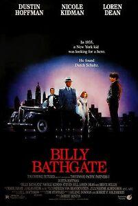 Billy Bathgate (1991) Movie Poster |4 Sizes| Gangster Bronx Mafia DVD BluRay