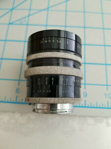 Exakta Camera Lens P. Angenieux Paris F. 35 F 2.5 Retrofocus Type R1 #223554