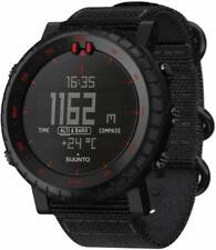 SUUNTO watch Core Black Red 3 ATM water resistant orientation SS023158000