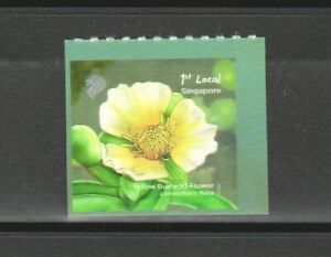 SINGAPORE 2012 POND LIFE YELLOW BURHEAD 1ST LOCAL BOOKLET PANE 1 STAMP IN MINT