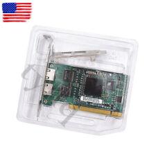 NEW FOR  Intel PWLA8492MT Chipset (82546) Pro Dual Port Gigabit PCI Lan Adapter