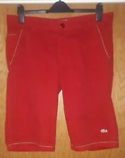Mens Vintage red Lacoste shorts . size large