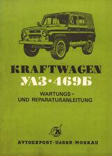 UAZ 469 B (ä. Hunter) NVA 🔧 Reparaturhandbuch, Anleitung Deutsch Russenjeep SUV