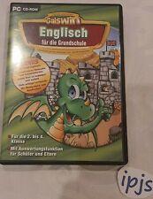 PC CD-ROM Galswin Englisch für die Grundschule 2.-4.Klasse 12 Themen Lernspiel