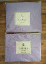 Ralph Lauren Classic Sheet Flat & Fitted Queen 350 TC Wild Aster Lilac NEW