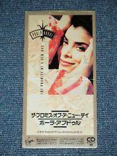 "PAULA ABDUL  Japan 1991 Tall 3""CD Single THE PROMISE OF A NEW DAY"