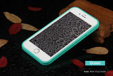 Green Shockproof Rubber Waterproof TPU Phone Case Cover For iPhone 5 5S SE
