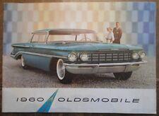 Oldsmobile ORIG 1960 USA Mkt opuscolo vendite-dinamico 88 SUPER 88 NOVANTA Otto