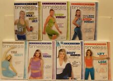 7 Kathy Smith's Timeless collection DVD lot body boomers power walk step yoga