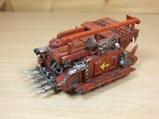 CONVERTED WARHAMMER ORK RHINO TRANSPORT PAINTED (L)