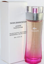 Lacoste Touch Of Pink 3.0oz/90ml Tstr Edt Spray For Women New Tster Box