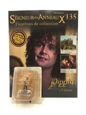 figurine plomb le seigneur des anneaux n135/181 pippin + fascicule eaglemoss