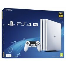 Sony PlayStation 4 Pro 1 To 4K Console de Jeu-Blanc