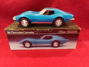 1968 Chevrolet Corvette Beam Decanter Blue Made in 1992