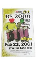 Bs 2000 Featuring Ad Rock Of The Beastie Boys 2001 Original Hawai Concert Poster