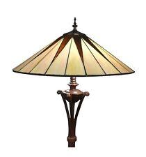 Htdeco - Lampadaire Tiffany art déco - Lampe de table et de chevet