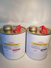 Pouring Foam Polyurethane 25:1 expanding liquid foam 37kg per Cubic Metre 4litre