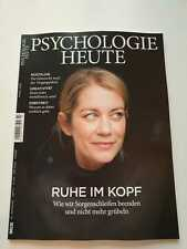 Psychologie Heute Heft 3/2020   Ruhe im Kopf   ungelesen,  1A TOP Zustand