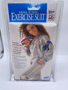 Vintage 1992 Exercise Suit with Sauna Action NOS Sealed Suit Men/Women One Size