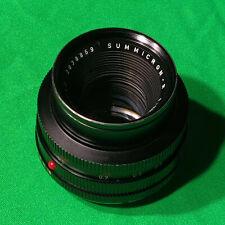 Leica Leitz Wetzlar Summicron R f2 50mm - Exc cond.