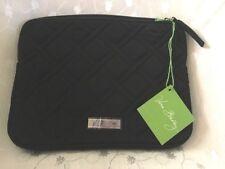 Vera Bradley e-Reader Sleeve Classic Black Case Zip iPad mini Kindle Moon Drops