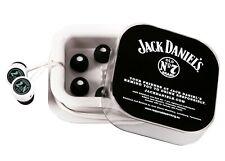 Jack Daniels In-Ear Hörer Kopfhörer Ohrhörer Set mit Ersatz Ohrpolster NEU