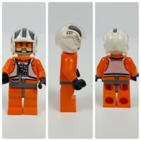 Lego Star Wars Zev Senesca Star Variant X-Wing Pilot Mini Figure from Set 8089